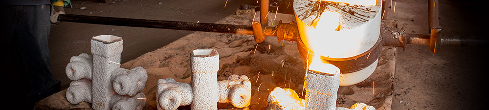 pouring molten metal at PPCP, Inc., Lebanon, PA
