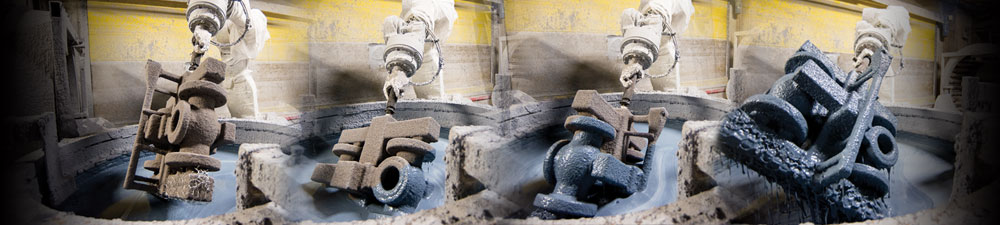 advanced robotic dipping stations for lost wax casting process